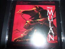 Mulan Walt Disney Film Soundtrack (Australia) CD - Like New