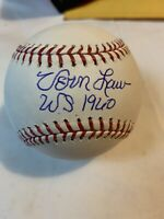 VERN LAW PITTSBURGH PIRATES WS CHAMPS 1960 SIGNED M.L. BASEBALL BECKETT G58176