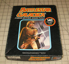 "1978 Battlestar Galactica ""Lt. Starbuck"" 140-Piece Parker Brothers Puzzle"