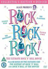 ROCK ROCK ROCK The Movie + The Music BOX 1 DVD in Inglese + 2 CD NEW .cp