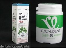Recaldent Gum GC tooth mousse plus combo wine tasting tooth wear sensitive teeth