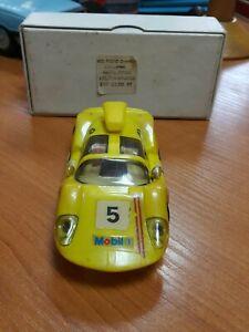 VINTAGE PREFO SLOT CAR TOY N5 MOBIL 1 GT Airfix Scalextric GERMANY DDR GDR + BOX