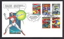 Canada FDC # 1579-1583 Combo   COMIC BOOK SUPERHEROES  1995  New Unaddressed