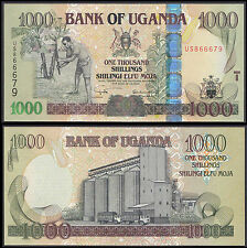 Ouganda 1000 SHILLINGS (P43a) 2005 UNC