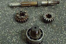 Jawa CZ 590 250 transmission shaft gears *