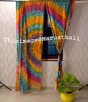 Bohemian Ombre Window Mandala Curtains Indian Drape Room Curtain Boho Tapestry