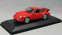 Minichamps Maxichamps Porsche 911 964 Turbo in Red 1990 940069102 1/43 NEW