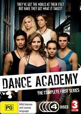 BNIP Dance Academy The Complete First Series Season 4-Disc DVD Set 1 R4