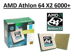 AMD Athlon 64 X2 6000+ Dual Core Processor 3.0 GHz, Socket AM2, 89/125W CPU