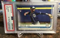 2019 Topps Series 2 FERNANDO TATIS JR RC #410 PSA 10 Gem Mint Unique eBay 1/1