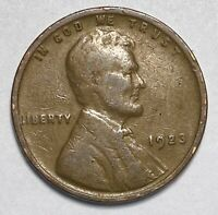 1923 Lincoln - Wheat Ears Reverse 1 Cent Circulated Coin  (1626)