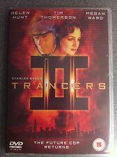 Tim Thomerson Helen Hunt Trancers 2 Culto Charles Banda Sci-Fi Raro UK DVD II