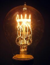 40 Watt Antique Edison Style Medium Base Light Bulb E-26 A19-15FL