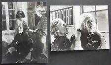 FEDORA 1978 PRESS STILL PHOTO X2  BILLY WILDER MARTHE KELLER WILLIAM HOLDEN