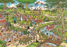 The Park Jan van Haasteren 1000 Piece Cartoon Funny Jigsaw Puzzle by Jumbo