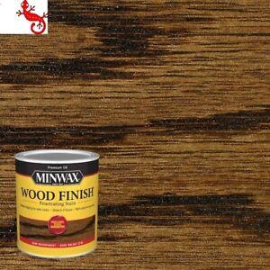 Minwax Wood Finish Oil-Based Dark Walnut Semi-Transparent Interior Stain 1 quart
