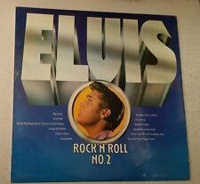 1970's ELVIS L.P ALBUM ' ROCK 'N' ROLL VOL.2 ' RCA ORANGE LABEL CAT.No.SF 7528