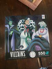 Disney Villains Jigsaw Puzzle 550 Pieces NEW Ceaco