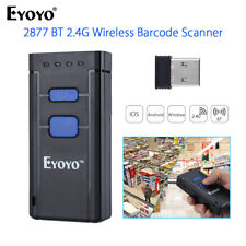 Mini Wireless Bluetooth Barcode Scanner Code Reader Apple IOS/Android/Windows