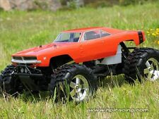HPI RACING SAVAGE X 4.6 REVERSE 7184 1969 DODGE CHARGER BODY - GENUINE NEW PART!