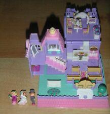 Polly Pocket ancienne église vintage années 90 avec 3 personnages
