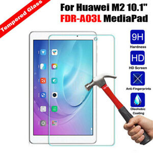 Genuine Tempered Glass Screen Protector for Huawei Mediapad M3 Lite M2 Pro 10.8