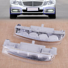 L/R Front DRL Fog Light Lamp Fit For Mercedes-Benz W204 C230 C250 C300 C350 E350