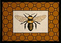 Needlepoint HandPainted Amanda Lawford BEE 13x9