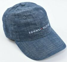 TOMMY HILFIGER Baseball Cap, Hat, Denim Blue, One Size Adult