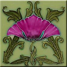 Art Nouveau Reproduction Decorative Ceramic tile 013