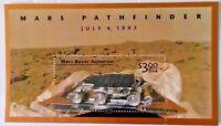 1997 SOUVENIR SHEET MARS PATHFINDER JULY 4 W/ROVER SOJOURNER $3 USA STAMP (D2)