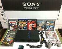 PlayStation 2 Sony con 8 giochi originali