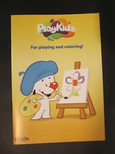 PLAYKIDS FOR PLAYING AND COLORING LUPI THE PUPPY coloring book 2015 TOY FAIR