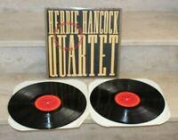 double LP vinyles- Herbie Hancock quartet (1984)