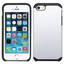 Fundas y carcasas color principal plata de silicona/goma para teléfonos móviles y PDAs Apple