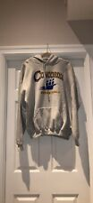 Men's Concordia College Basketball Hoodie Grey XXL Pullover
