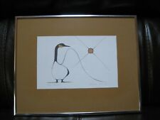 "Benjamin Chee Chee Professionally Framed Art Print GOOD MORNING Litho 14"" x 11"""