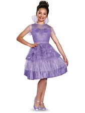 Girls Deluxe Descendants Mal Coronation Dress Costume