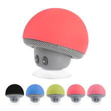 Alto-falante sem fio Bluetooth Mini alto-falante estéreo portátil Cogumelo para iPhone