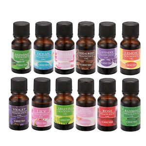 10ML DIFFUSER LONG LASTING WATER SOLUBLE NATURAL AROMAS ESSENTIAL OIL