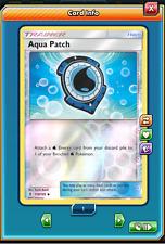 2x Aqua patch foil 119/145 - Pokemon Trading Card Game PTCGO Digital card online