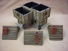 28MM GIOCHI PMC ME16 (verniciato) Angolo a due piani casa in legno tetto-Medievale