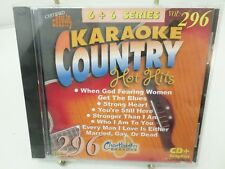 Chartbuster Vol 296 KARAOKE Country hot hits CD+G player needed new sealed