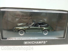 Minichamps : Porsche 911 Carrera Cabriolet 1983 Green 430062035