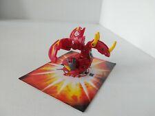 Bakugan Commandix Dragonoid Pyrus, 950G Dragonoid Destroyer Part Free P&P