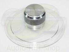 Borne Platine schallplattenklemme pour tourne-disque, Aluminum Nature Knauf 35mm