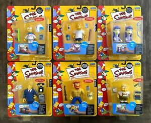 The Simpsons WOS Series 8 Figures Lot Complete Set New Daredevil Bart Kearny