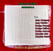 C25869 Cabin Air Filter For 2007 -18 Compass Patriot Caliber Avenger Sebring 200