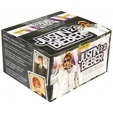 JUSTIN BIEBER - 2.0 Trading Card Box (Panini) #NEW