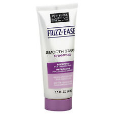 2 PACK John Frieda Frizz-Ease Shampoo, Smooth Start For Damaged Hair - 1.5fl.oz